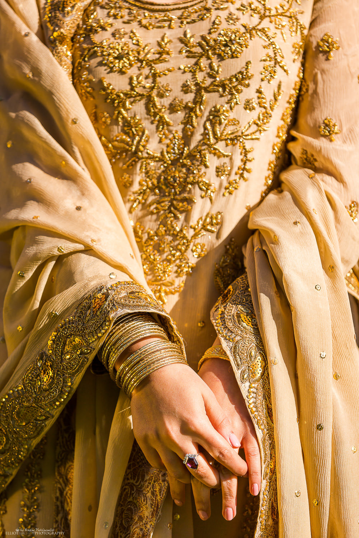 Asian Bride engagement ceremony dress.