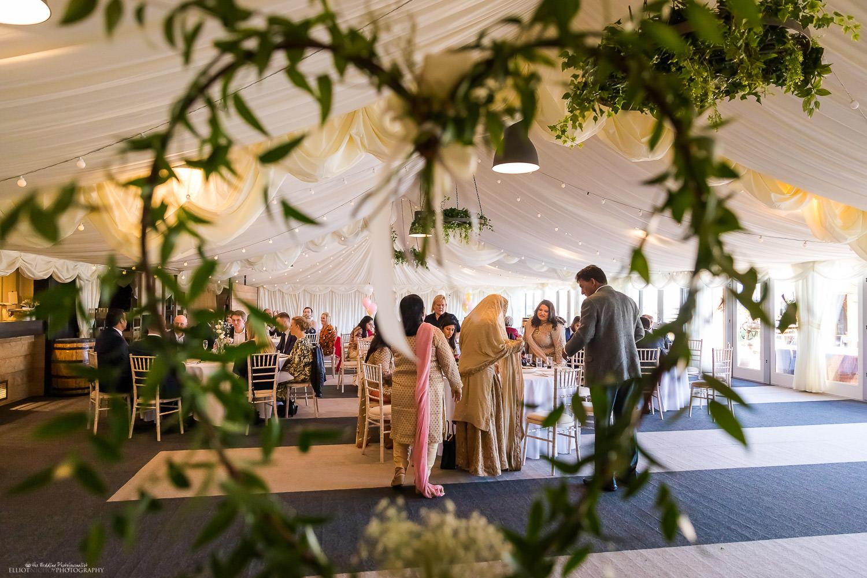 Engagement ceremony at Vallum Farm. Newcastle Upon Tyne based wedding and event photographer Elliot Nichol.