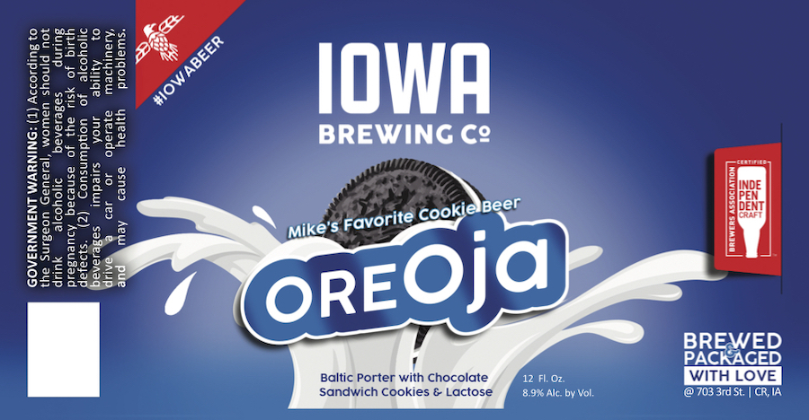 Our favorite Baltic Porter finished on America's #1 Cookie. Chocolaty and rich with a creamy finish. Treat yourself! O-R-E-Oja