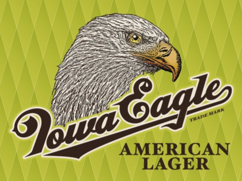 Iowa Eagle - Light, crisp, and refreshing. Iowa Eagle is a classic American Lager brewed in Iowa for the people of Iowa and beyond.