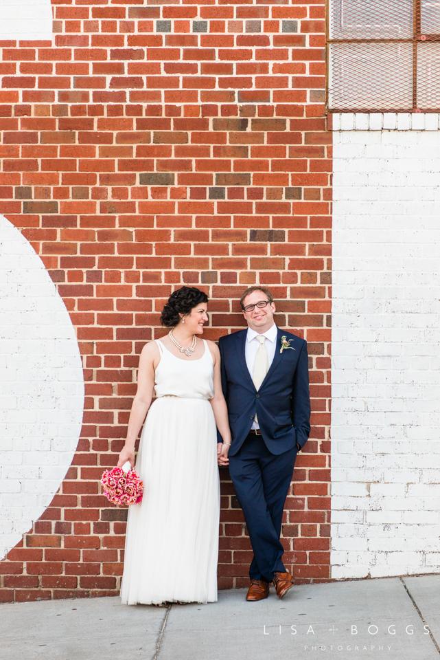 Debra & Ben's Mess Hall Washington, DC Wedding