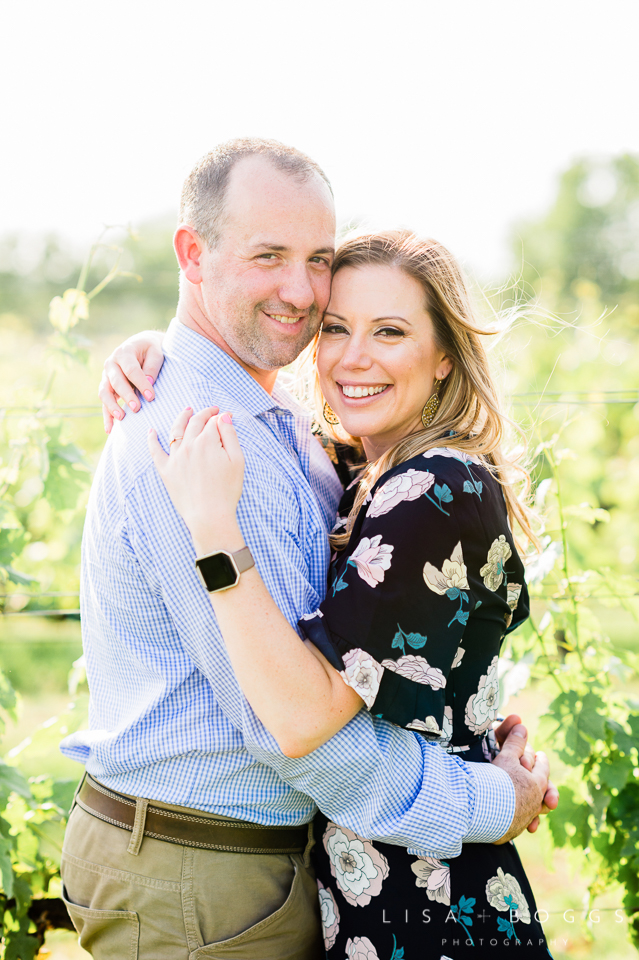 Patti & Ian's Engagements at Old House Vineyards