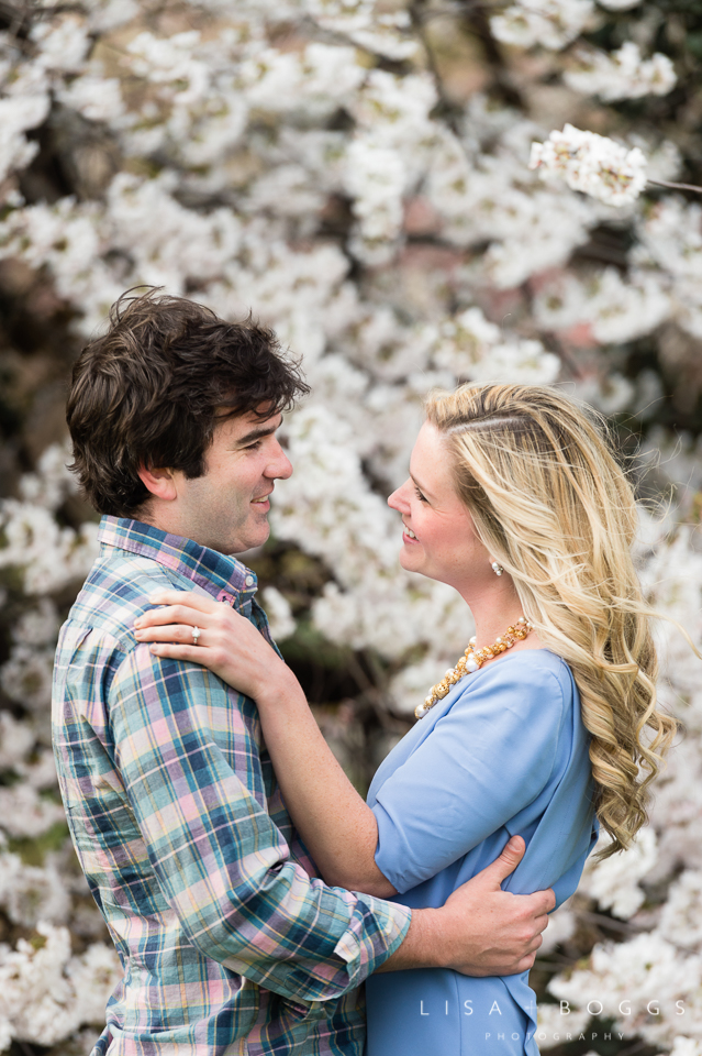 Courtney and Patrick celebrated their engagement with photos at