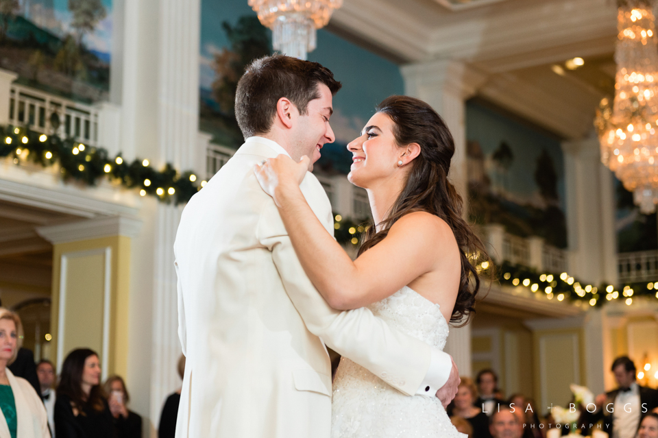 Natalie and Eddie's Holiday Baseball-Inspired Wedding at The Wil