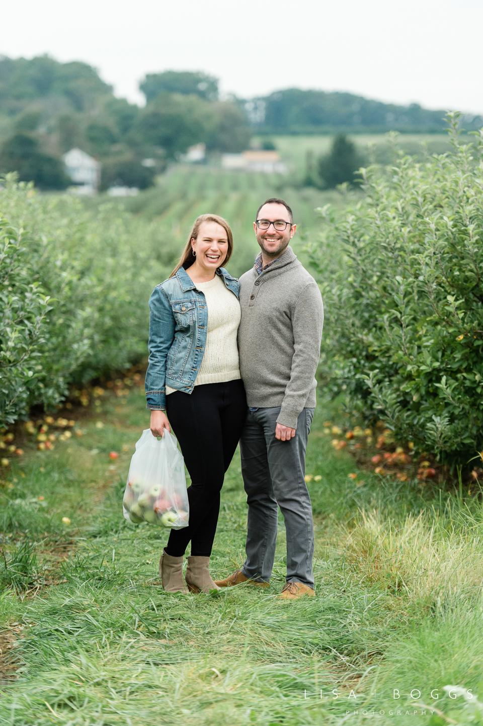 Jessica & Tom's Autumn Inspired Larriland Farm Engagement Sessio