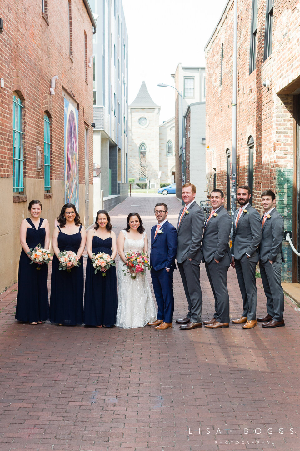 Emma & Evan's Colorful Urban Wedding at Long View Gallery