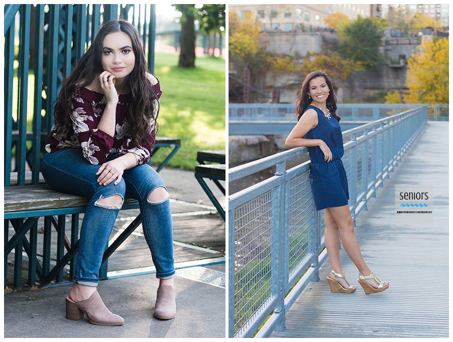 girl senior pictures mill ruins park loring park downtown minneapolis