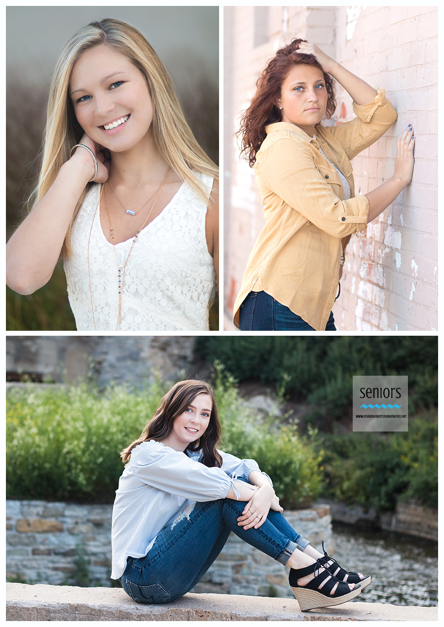 senior girl pictures at mill ruins park downtown minneapolis