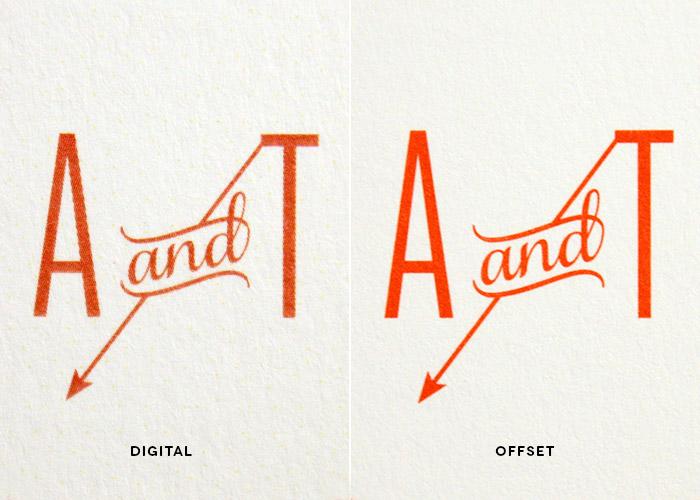 Digital vs. Offset Printing // Quality and Precision
