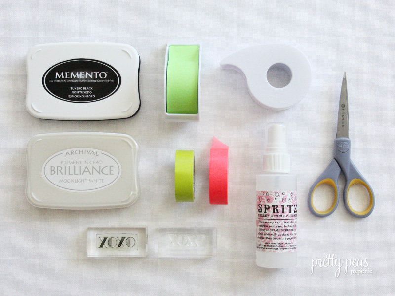 Stamp supplies we recommend