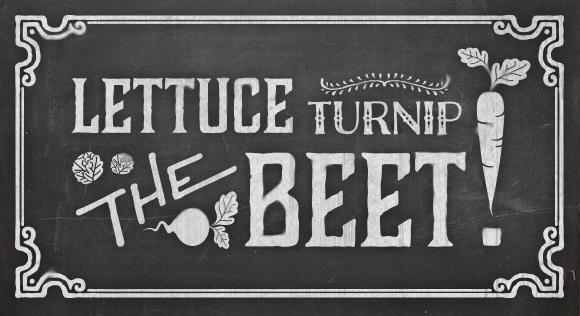 Lettuce Turnip the Beat // Akula Kreative
