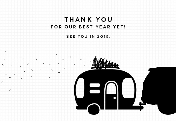 Thanks for a great year! - Akula Kreative
