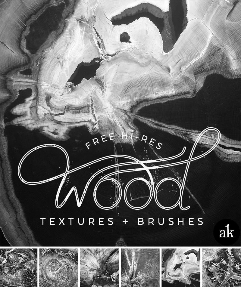 Free Hi-Res Petrified Wood Textures and Photoshop Brushes | Akula Kreative