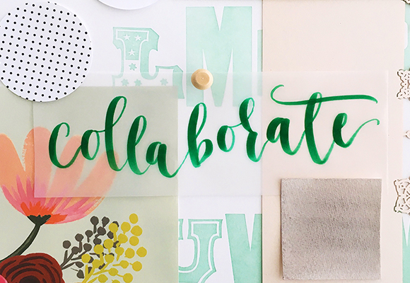 My goal for 2016 :: COLLABORATE.