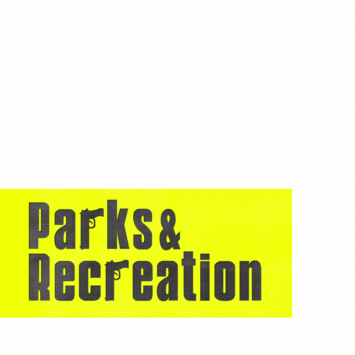 "Parks and Recreation ""Sopranos"" Logo 