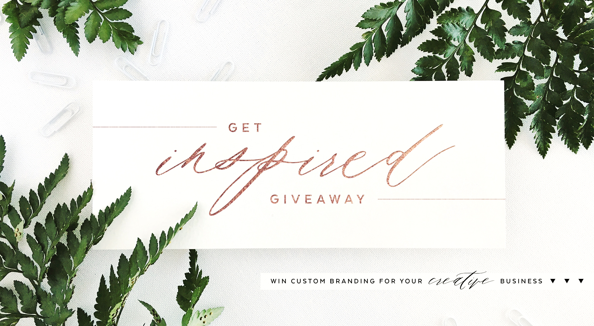 Get Inspired GIVEAWAY | Win Custom Branding for your Creative Business | Akula Kreative