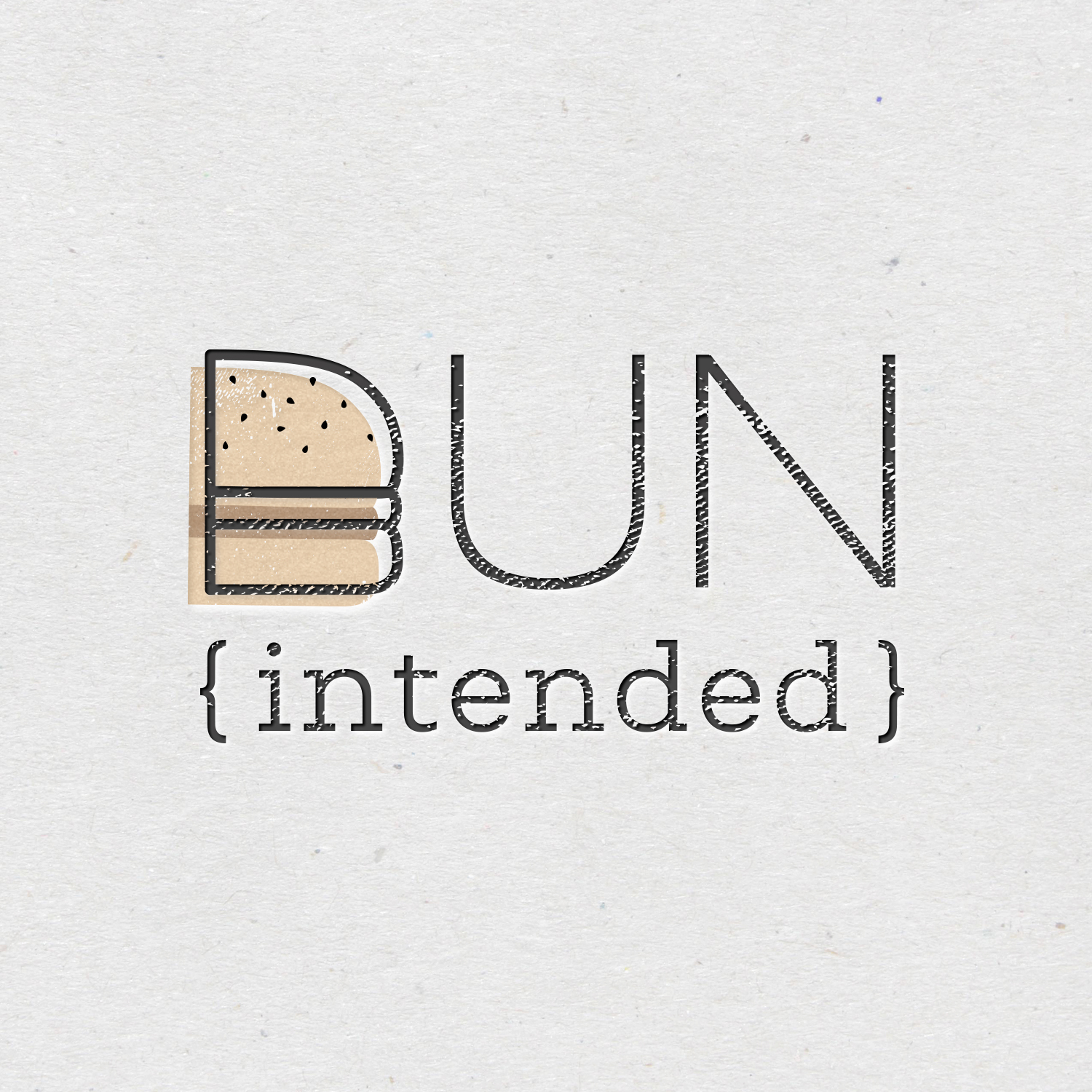 Bun Intended | Burger Joint Logo by Akula Kreative
