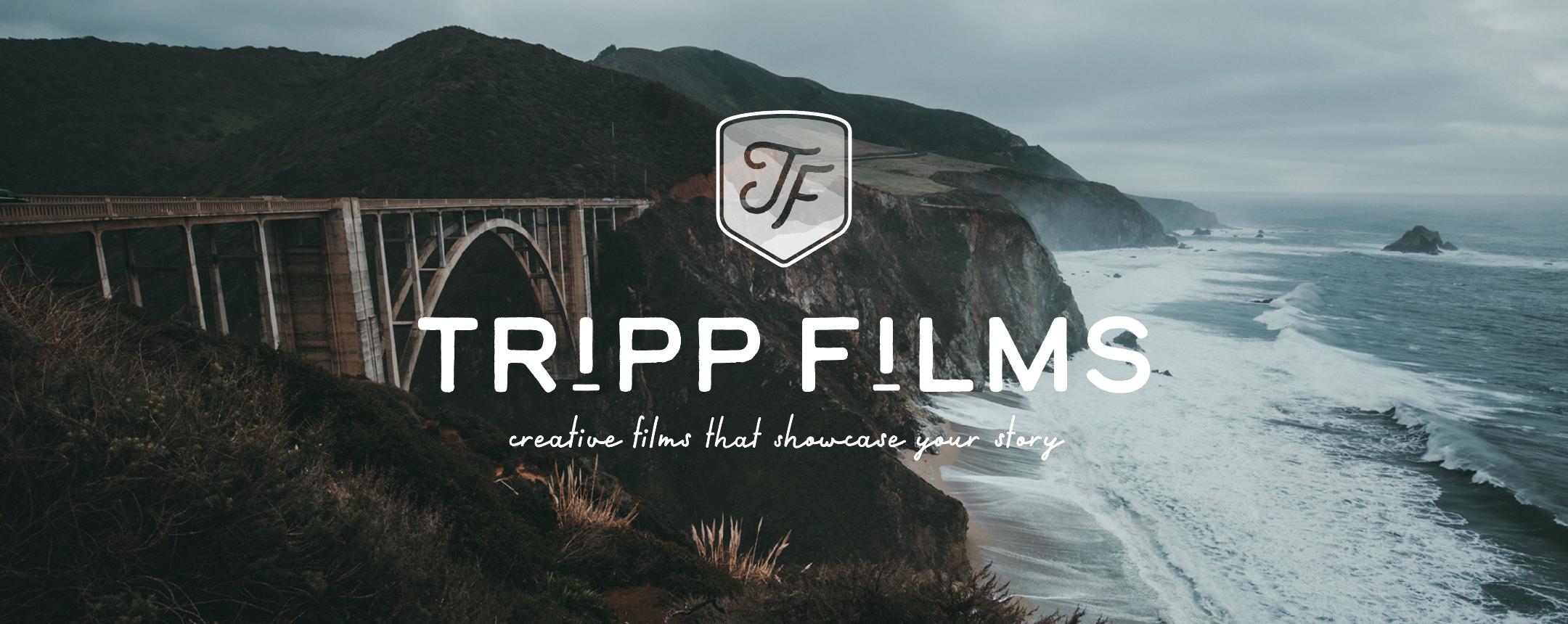 Custom Logo Design for Tripp Films by Akula Kreative | Houston, TX