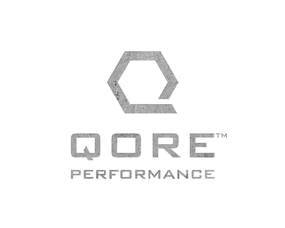 Modern, Rugged, Masculine QP Monogram Logo for Qore Performance | akulakreative.com