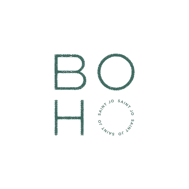 Word Mark Logo for Boho Saint Jo by Akula Kreative