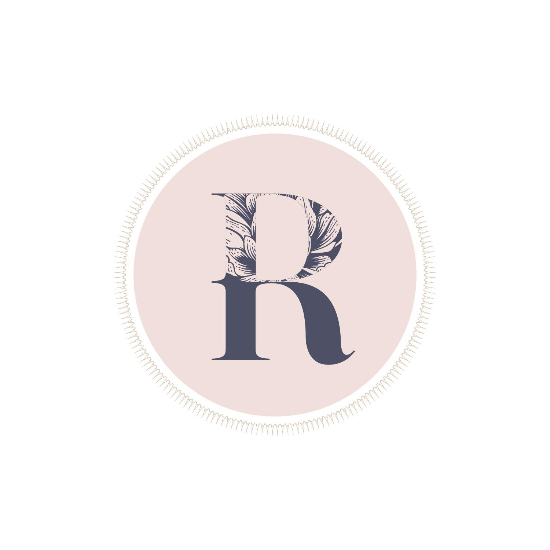Emblem Logo for Rebecca Douros by Akula Kreative