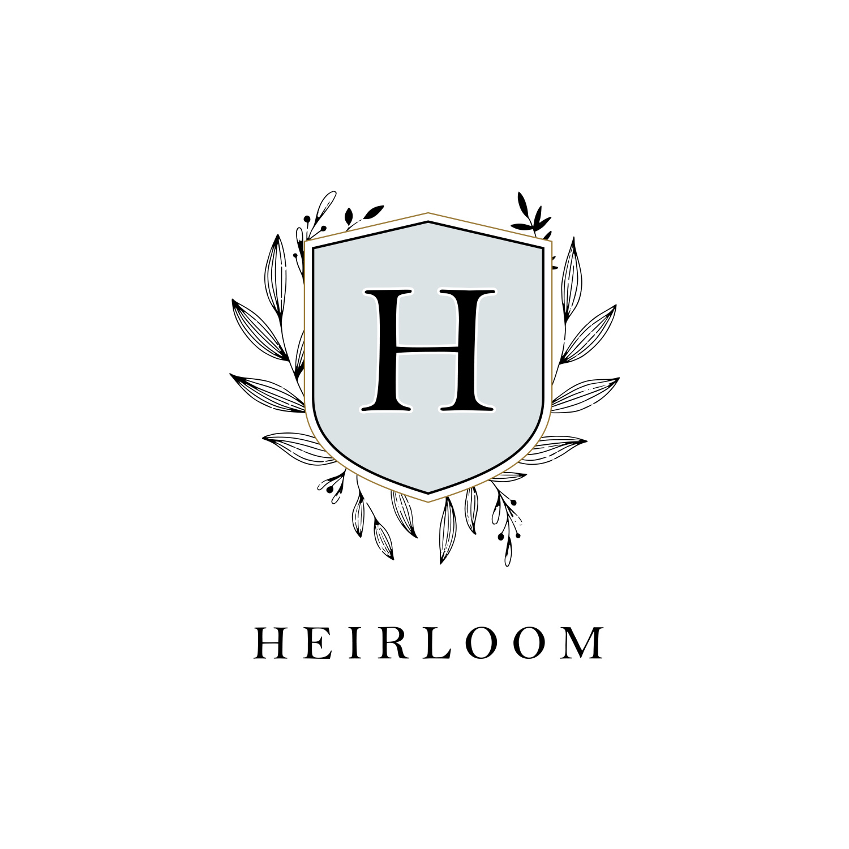 Emblem Logo for Heirloom by Akula Kreative