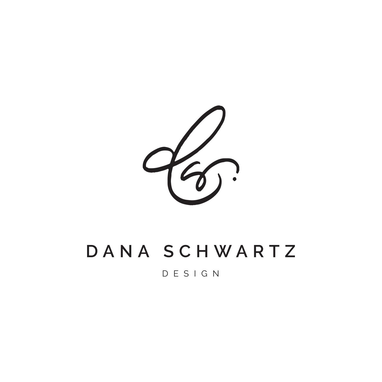 Monogram Logo for Dana Schwartz Design by Akula Kreative