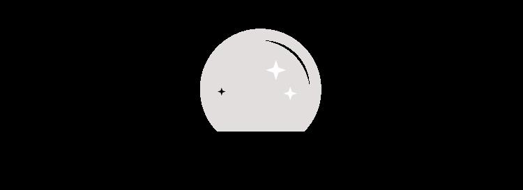 Crystal Ball Icon | Akula Kreative