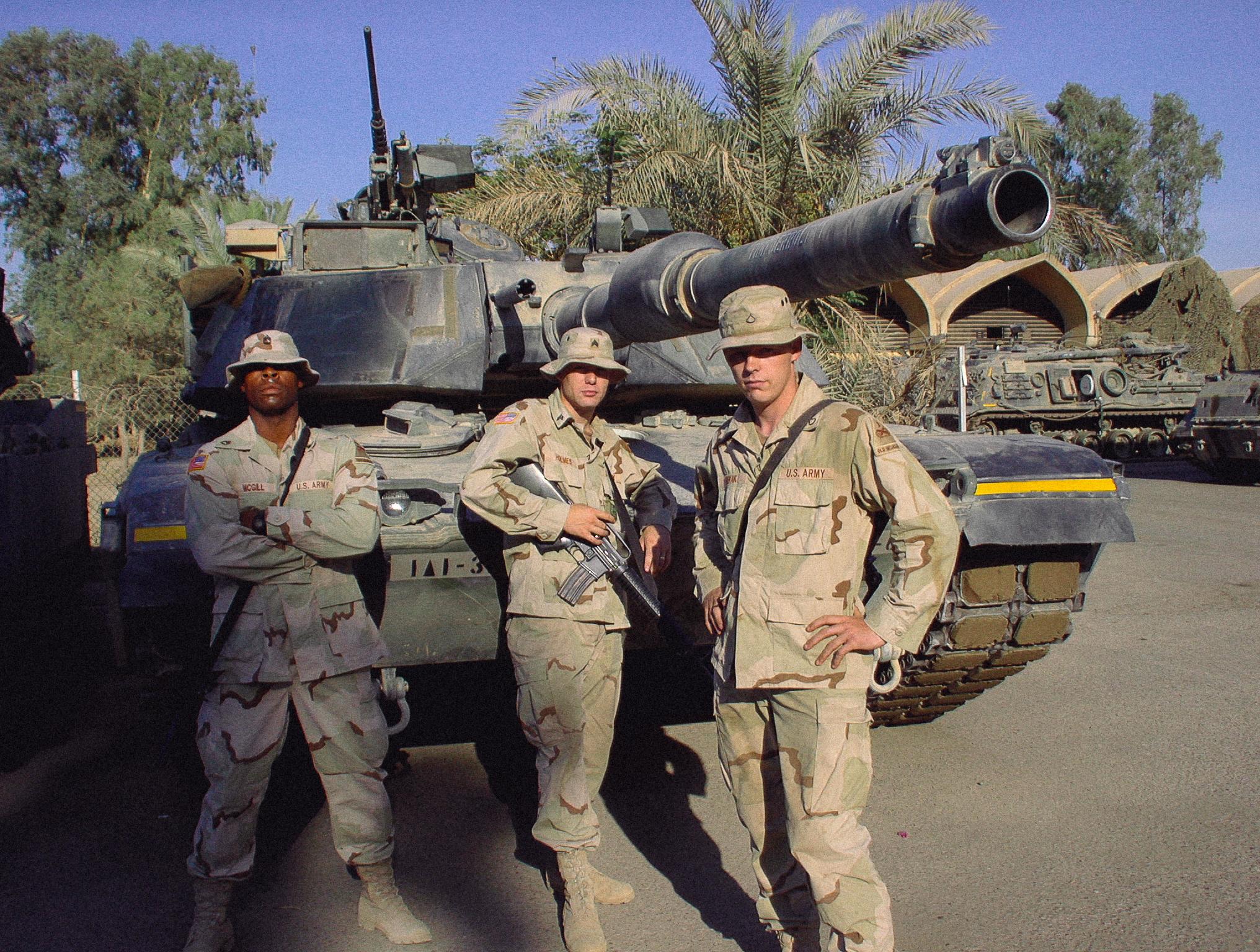 Revak in Baghdad, Iraq, 2003