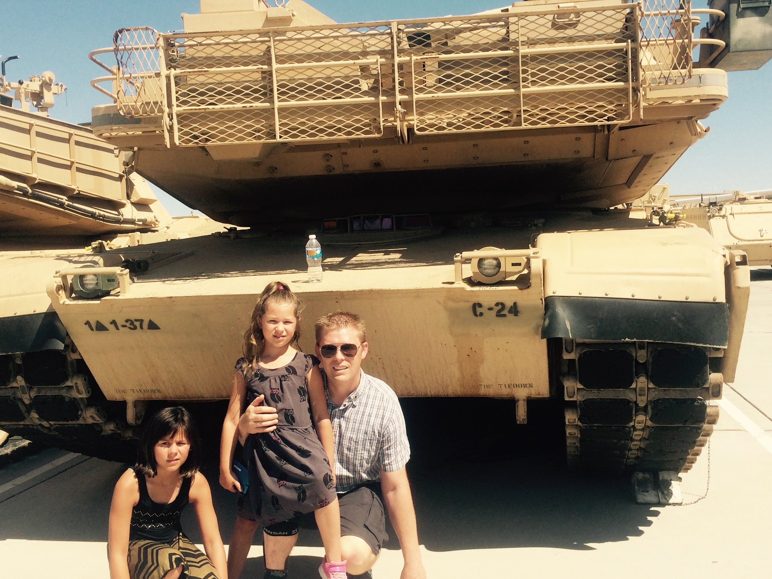 In front of my old tank - Ft. Bliss, TX.jpg