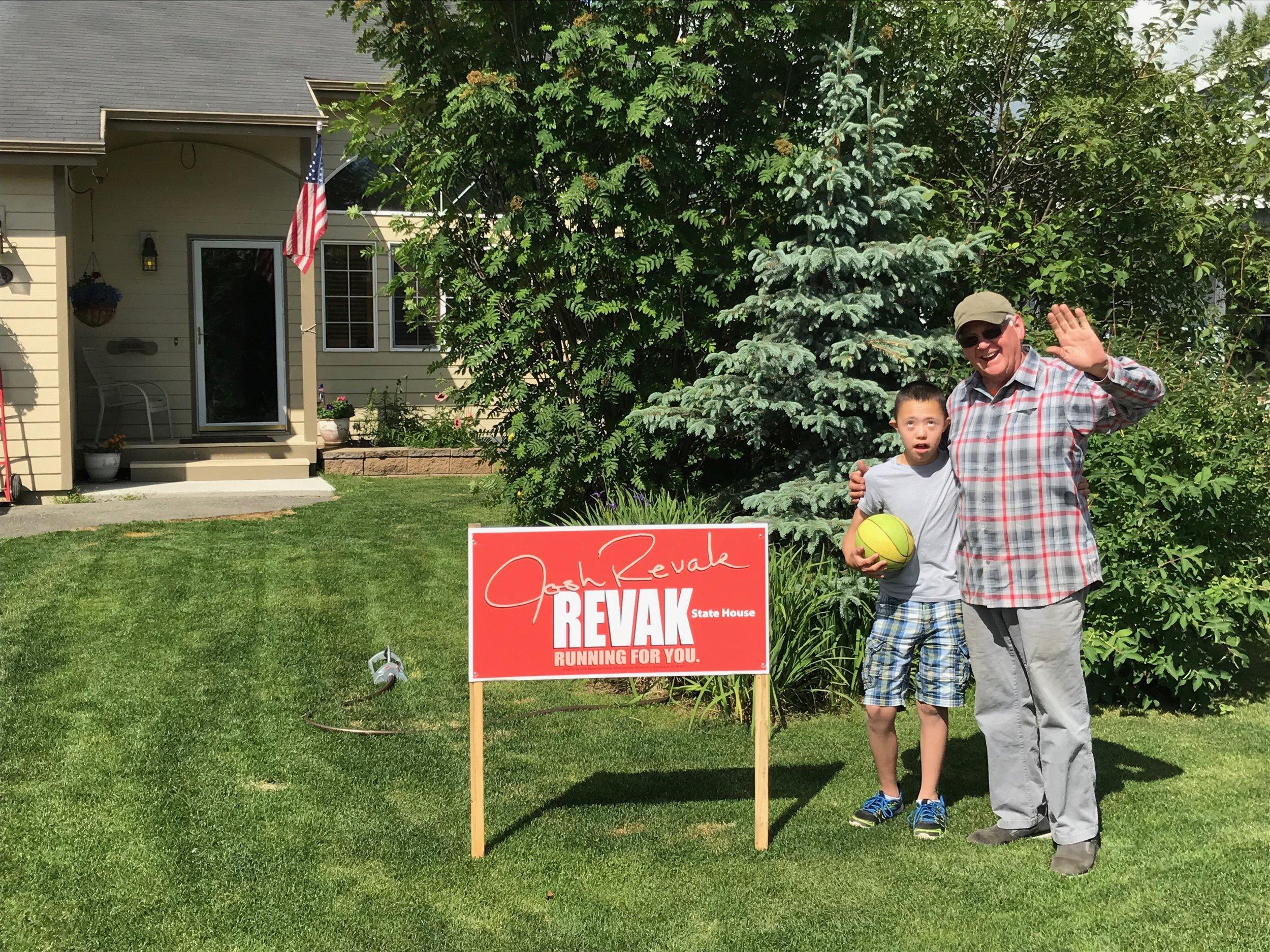 Revak for House Signs June 2018 (3).JPG