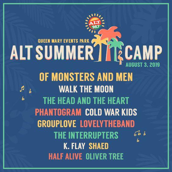 Summer Camp 2019 Lineup