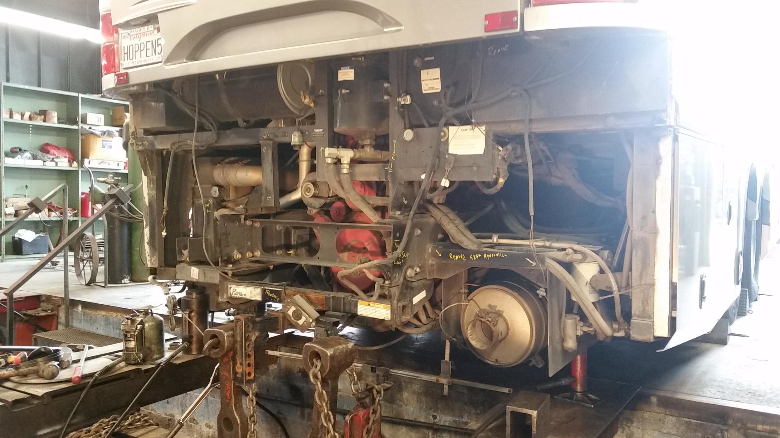 RV Frame Repair
