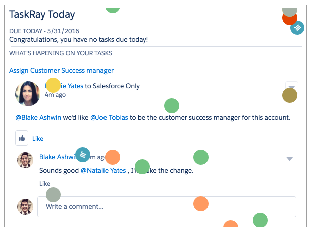 TaskRay Inbox Zero = Funfetti & Congratulations!