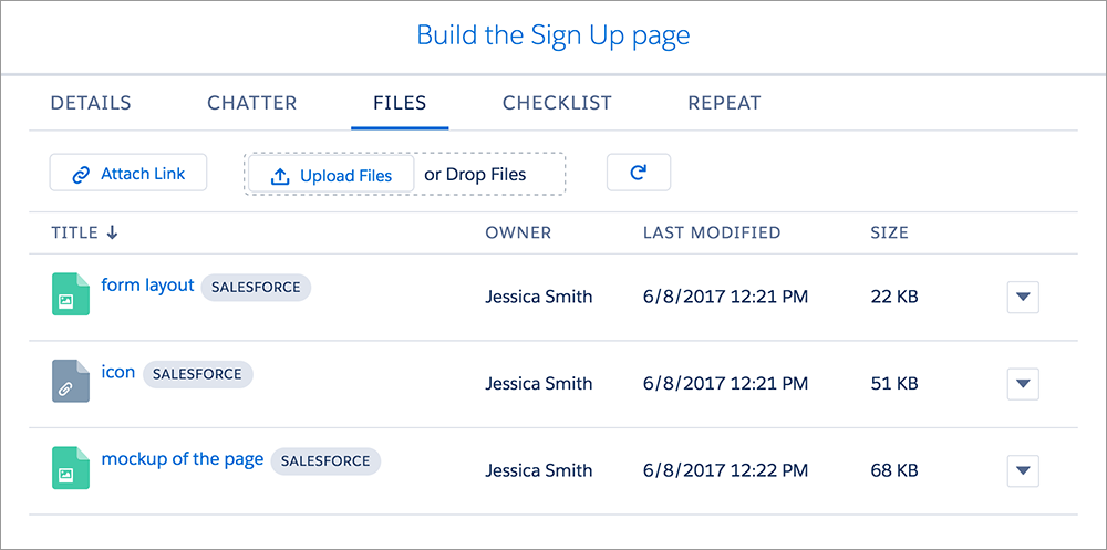 Communicate and share files—no more endless email chains and docs buried in in-boxes.