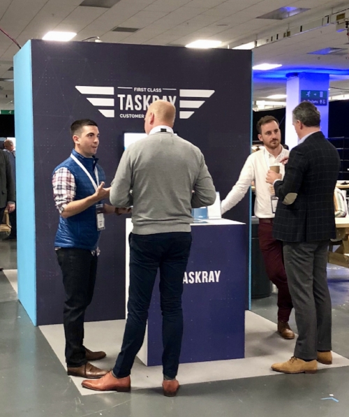 The TaskRay team was joined by TaskRay users and SI Partners from Empaua at Pulse Europe 2018.