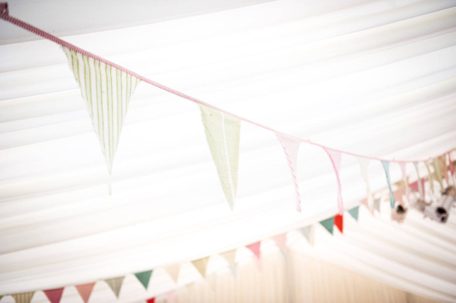 event bunting at Dummer