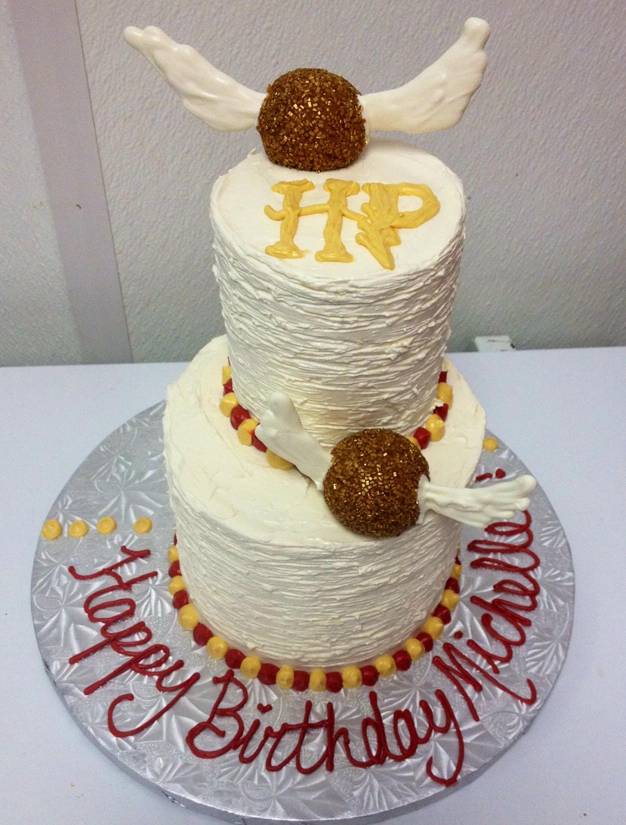 Harry Potter Two Tier Cake.JPG