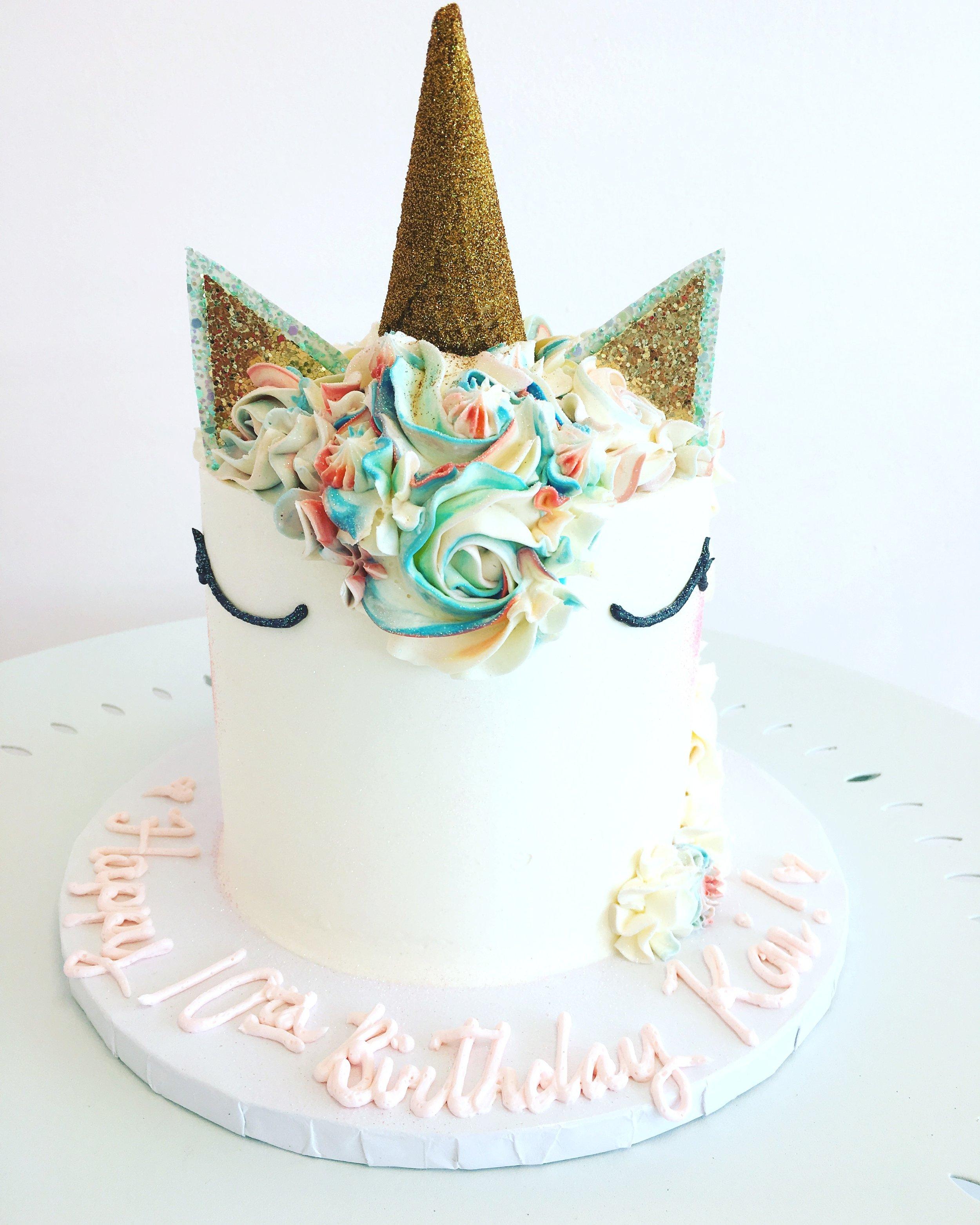 The perfect unicorn cake.JPG