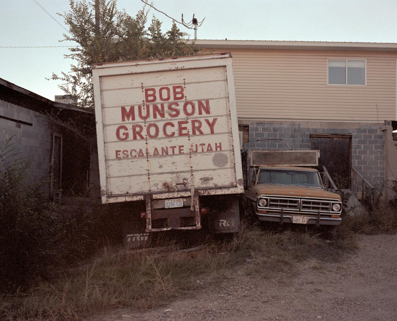 Bob Munson Grocery. Escalante, Utah. October 2013