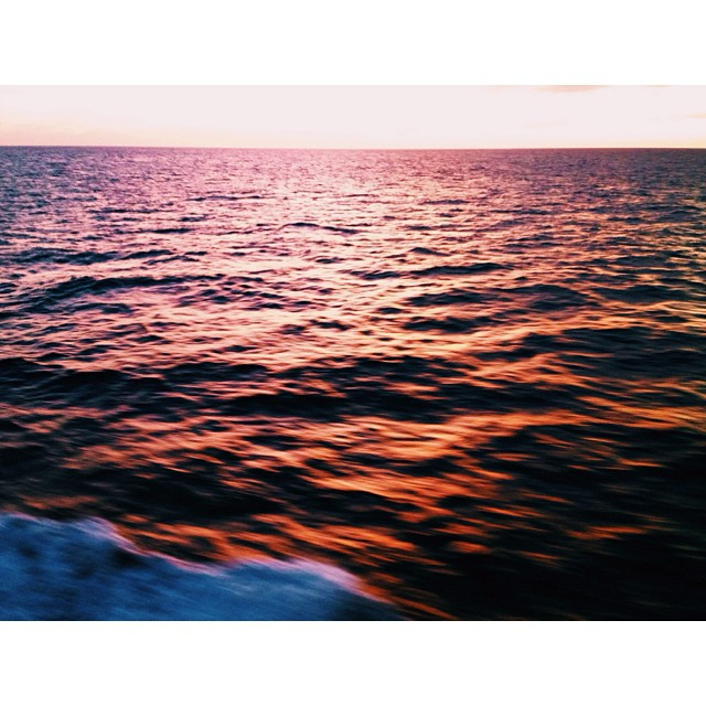 Fire in our wake. #sunset #keywest #bonvoyage #imonaboat #picoftheday