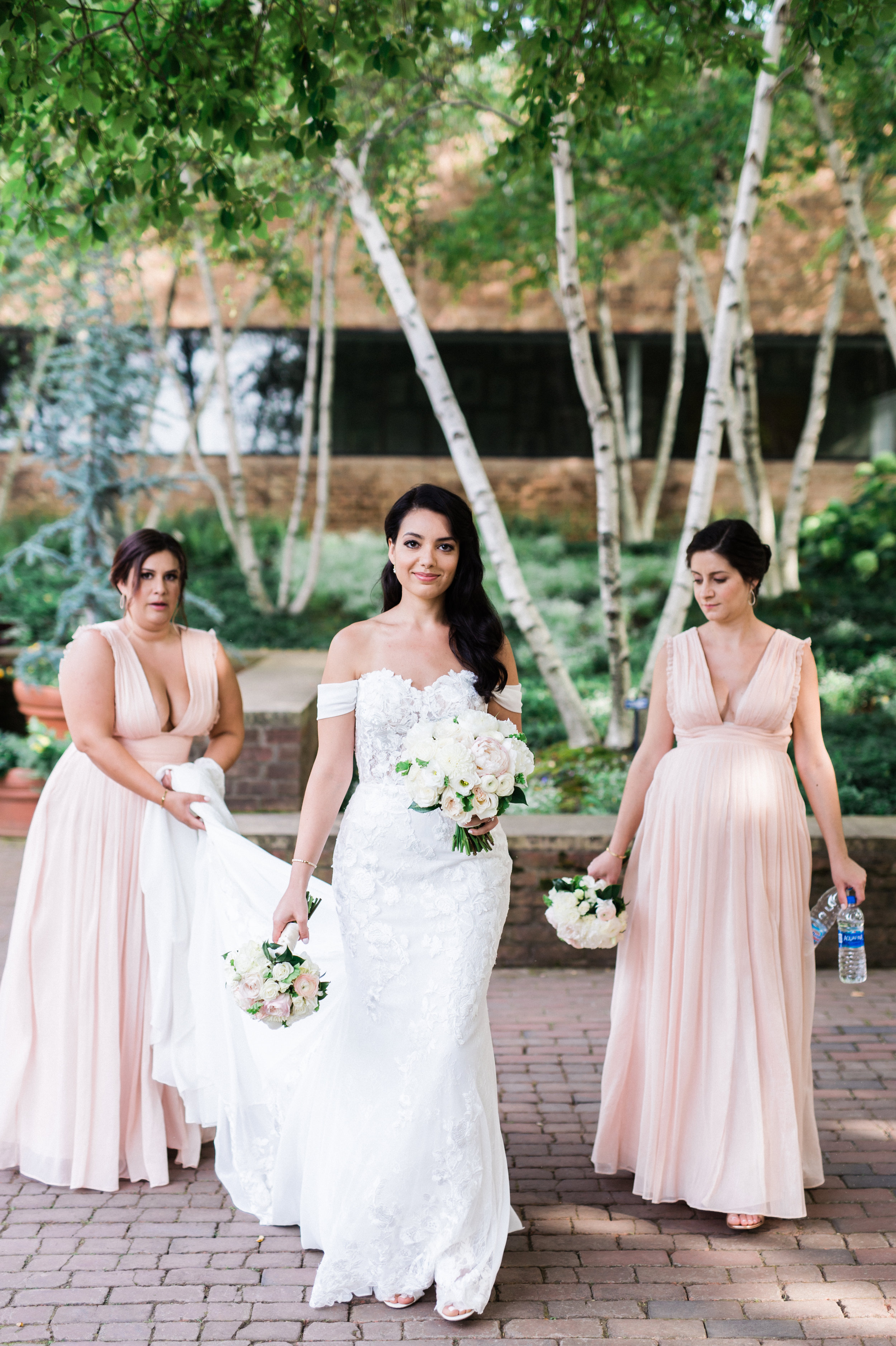Chicago Botanic Gardens Wedding