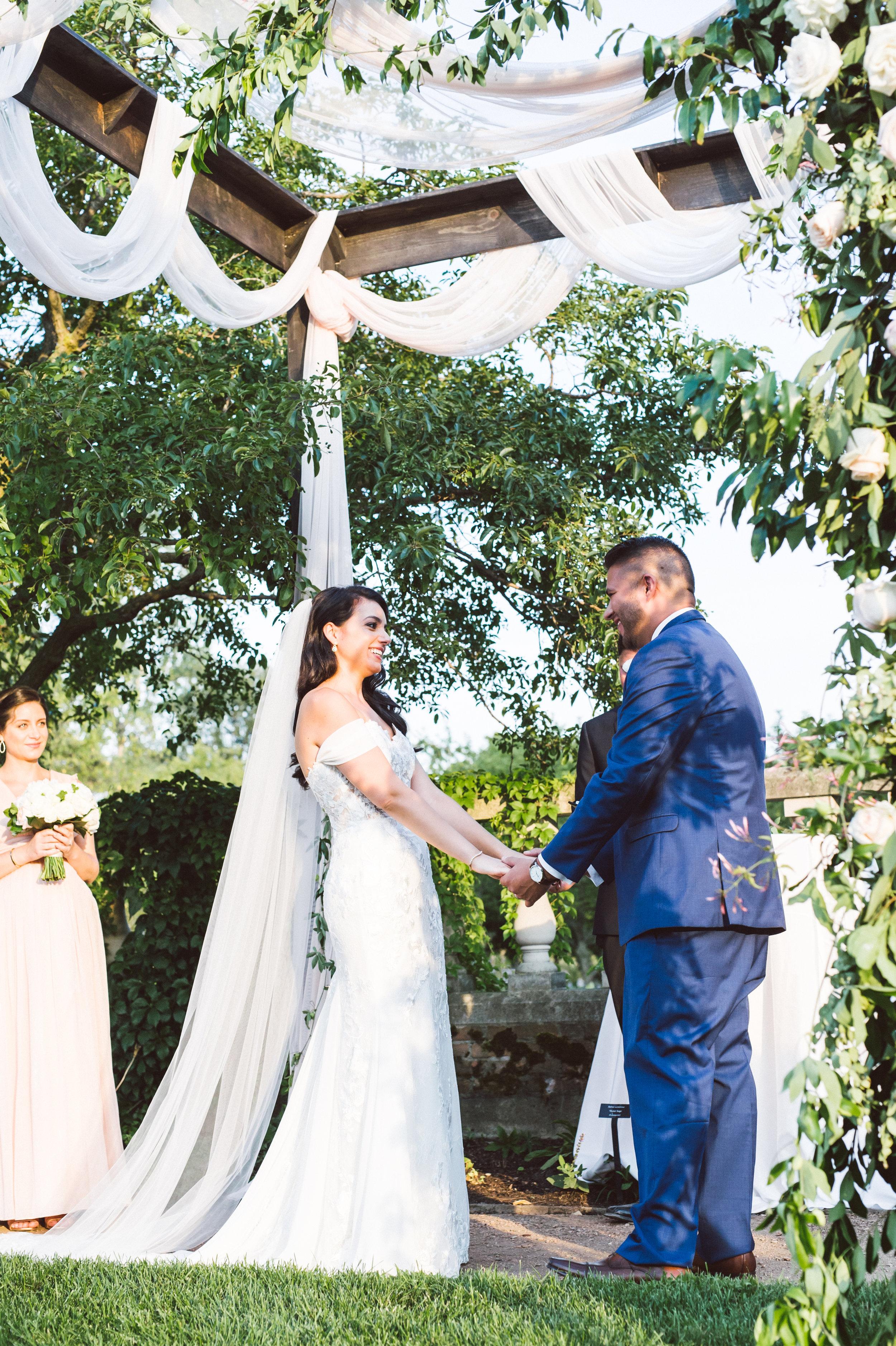 Botanic Garden Summer Wedding