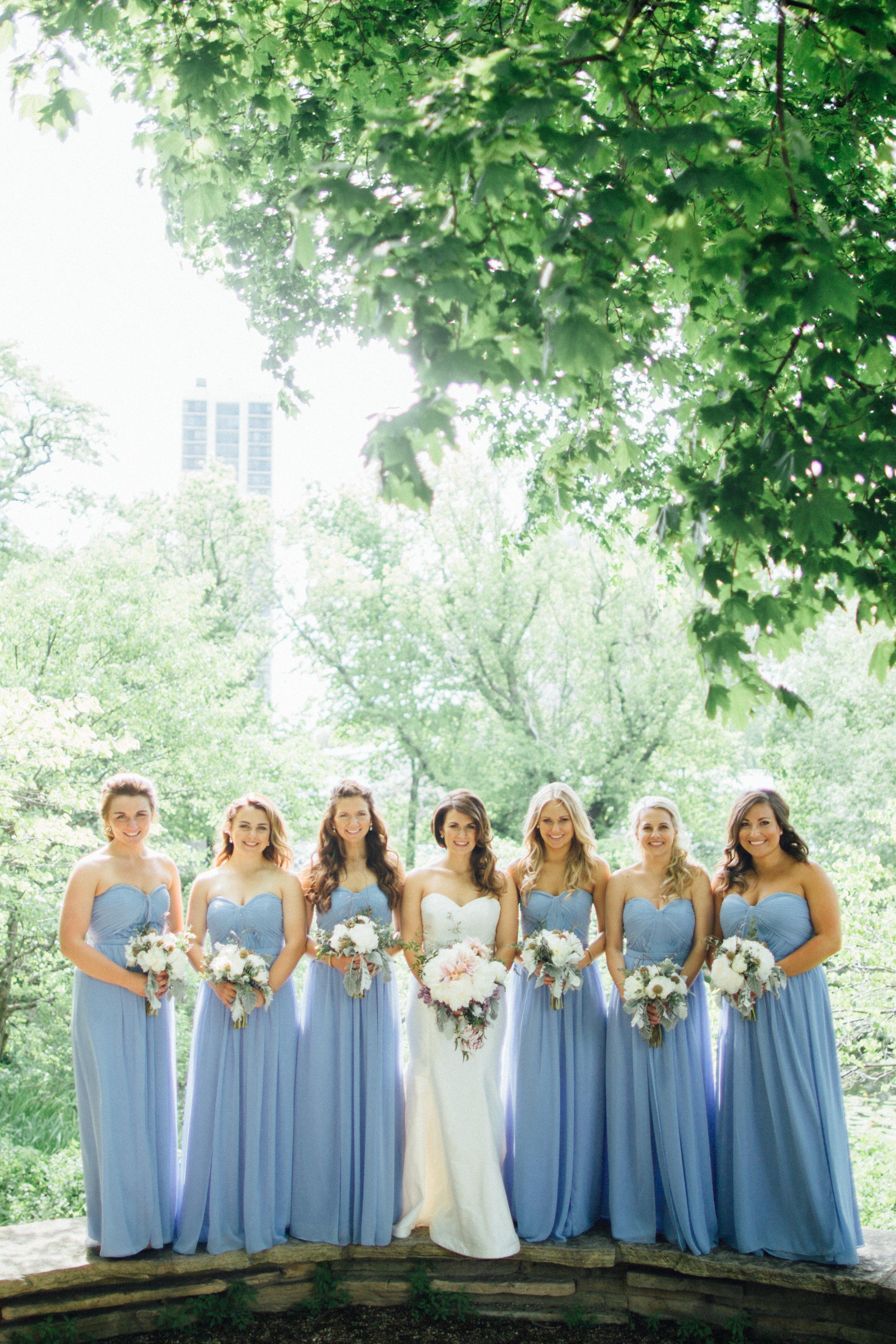 Pastel Spring Wedding - Garden - Pale Blue