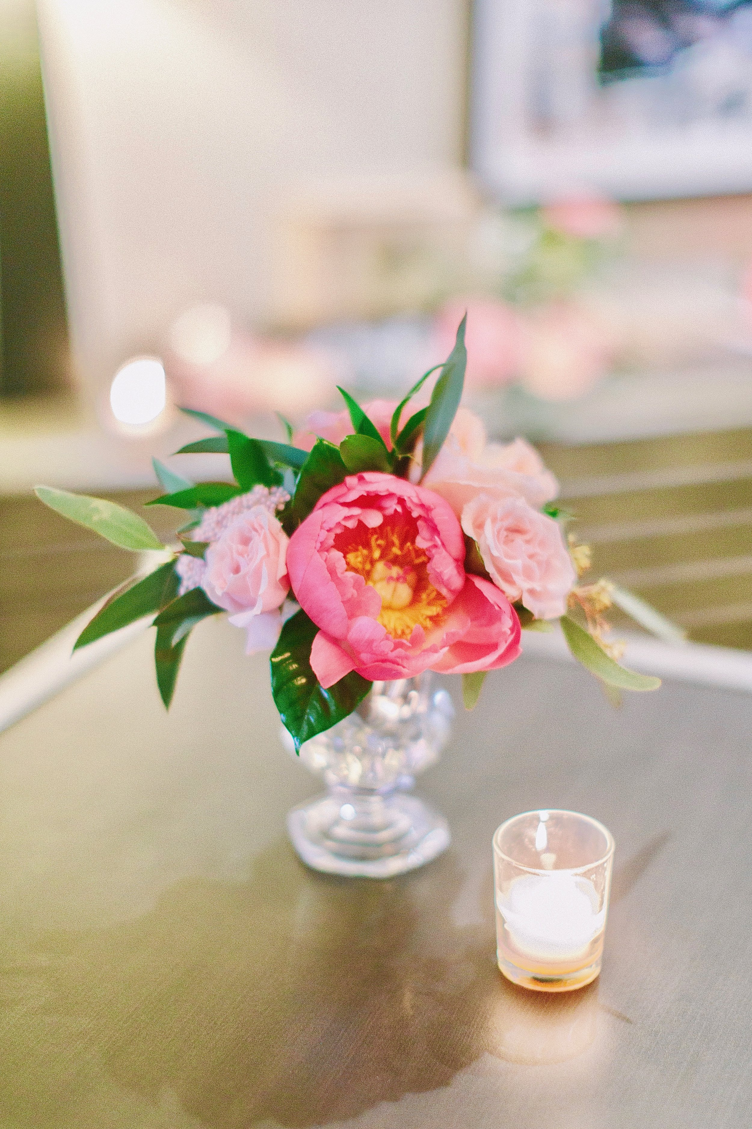 Pink Peonies Wedding Floral
