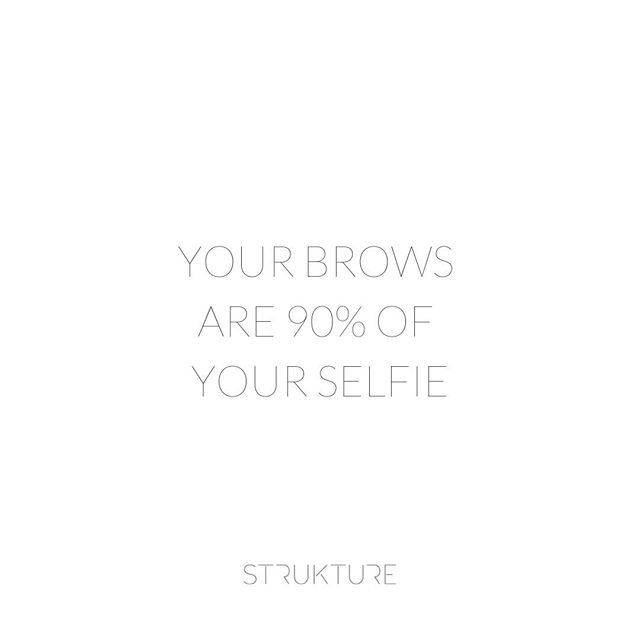 Your brows are 90% of your selfie. Are your brows summer selfie ready?? ⠀⠀⠀⠀⠀⠀⠀⠀⠀ ...