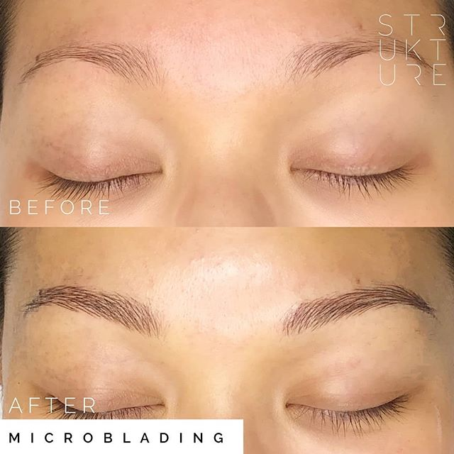 New shape, just as natural 👌🏻 This is microblading only, no shading. Using i♥️ink blend of gray & ebony. I'm currently booking for second half of August - only 5 spots left!