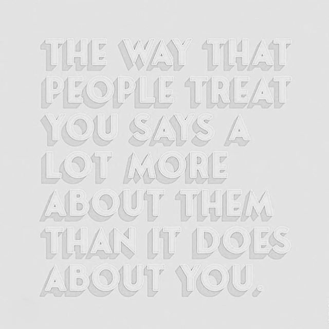 THIS. The biggest lesson I've learned in life & business: it's not about you. When people come into your life with negative energy, with anxiety, with overall bullshit...take a deep breath and remind yourself that this is about them. It's not personal. You can choose how you feel and how you react. That doesn't mean allowing yourself to be mistreated, but you are likely best served by staying calm in your communications so there is absolutely no question where the energy is coming from. Your mind is your own, don't let others drag you down and ruin your day 💕