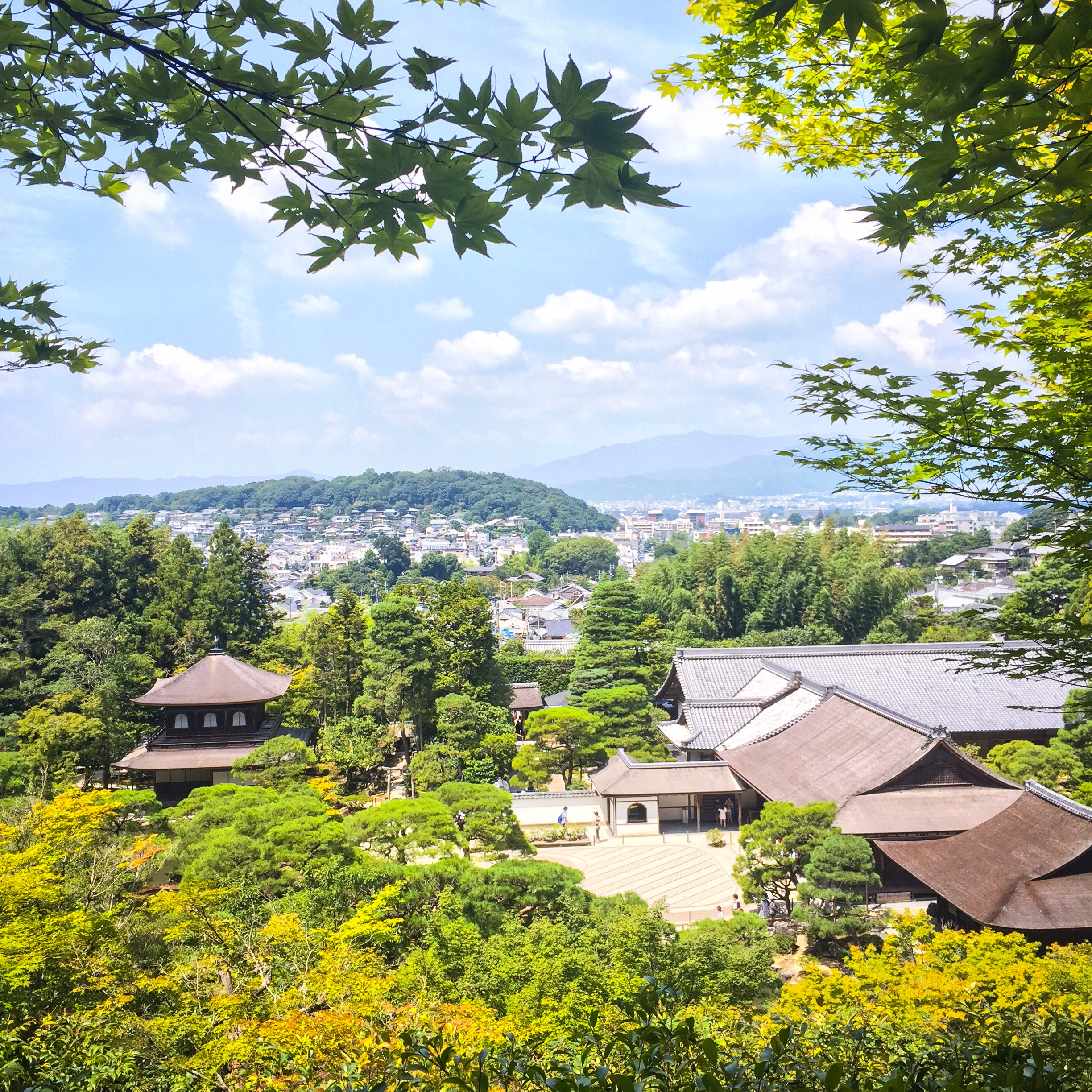 Kiyomizu-dera - 清水寺 , Views of Kyoto