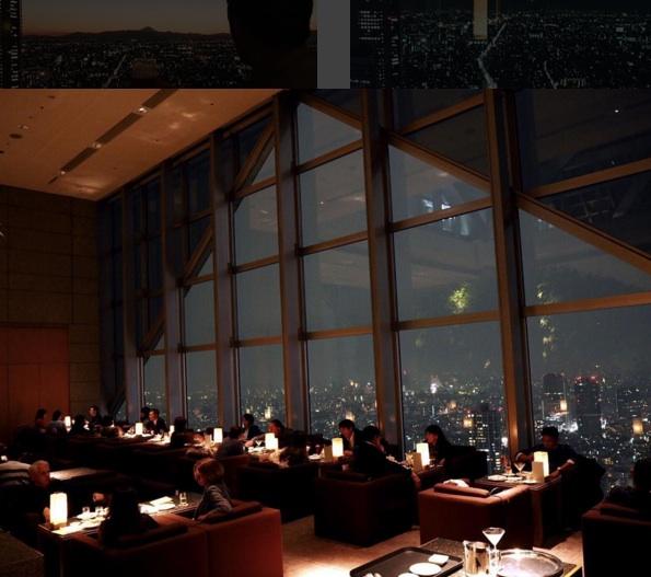 The Peak Bar, Park Hyatt Tokyo